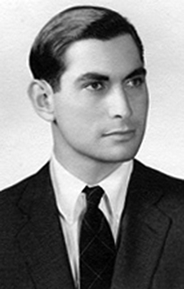 Ambassador John L Loeb Jr as a young man
