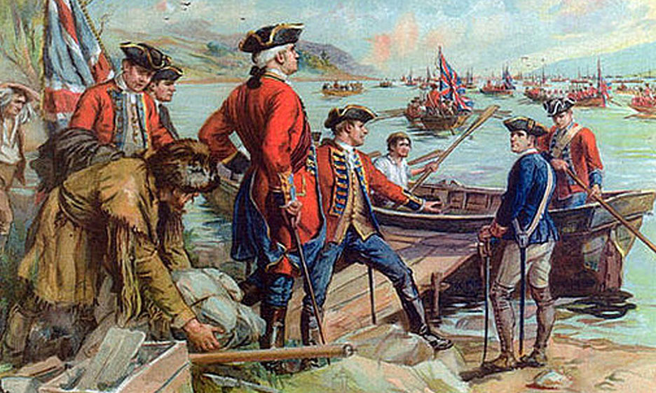 British Occupation of Newport Rhode Island 1776