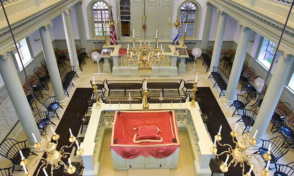 Touro Synagogue Newport Rhode Island Interior